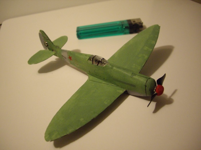 Micro Spitfire RC airplane