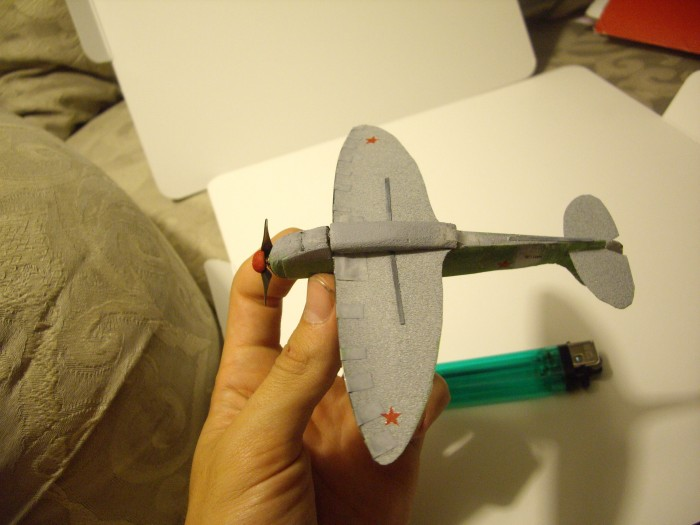 Micro RC Spitfire