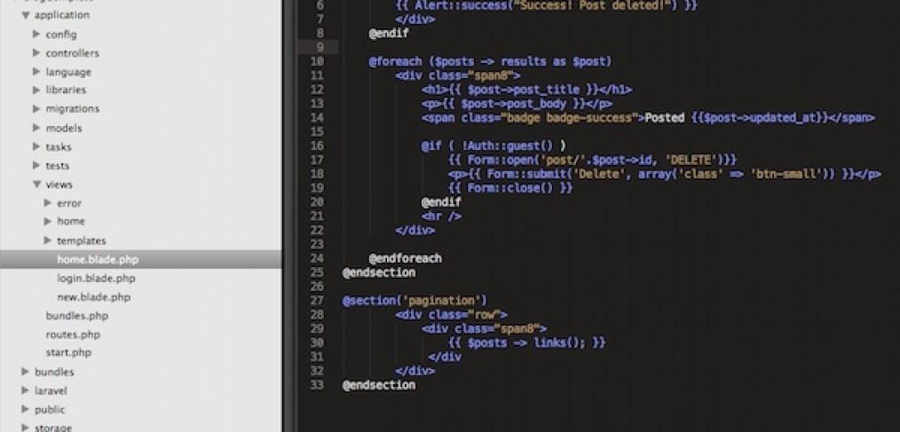Laravel Tip: Use generators to create Laravel code quickly