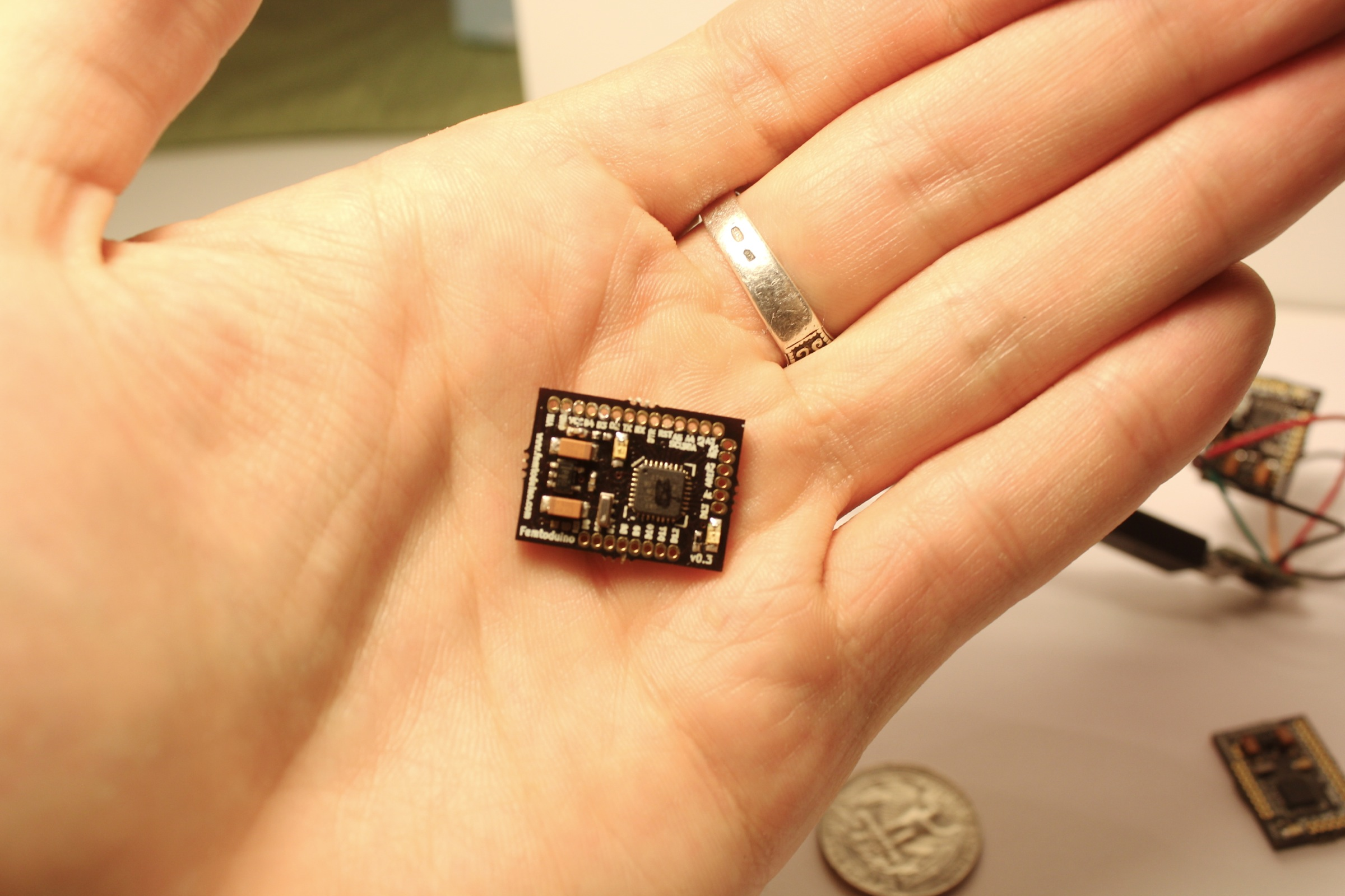 Femtoduino Arduino