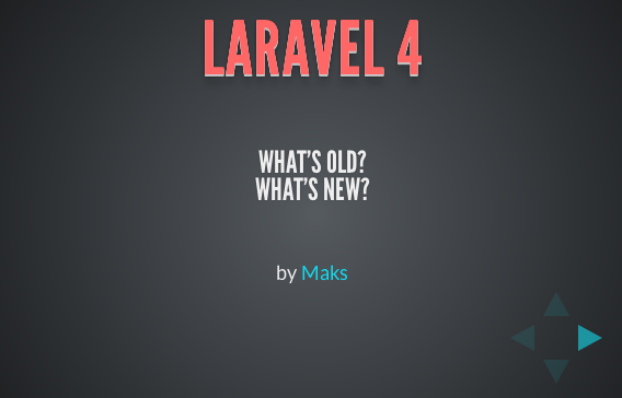 laravel4new