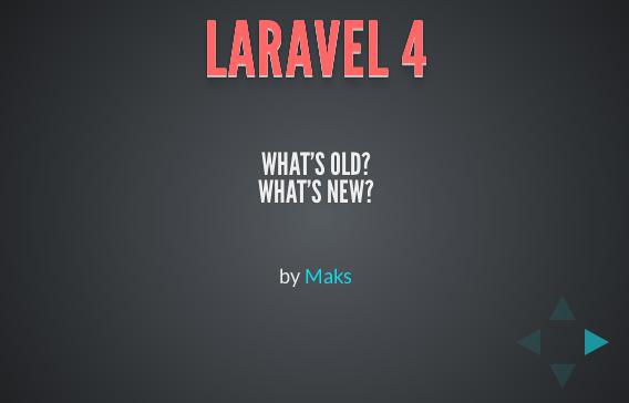 laravel4new