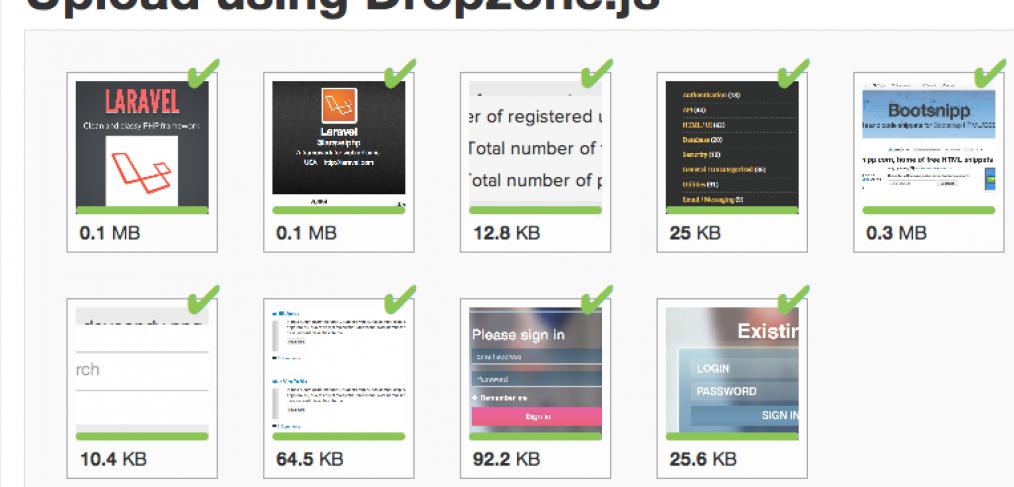 Howto : AJAX multiple file upload in Laravel (3) - Maks Surguy's