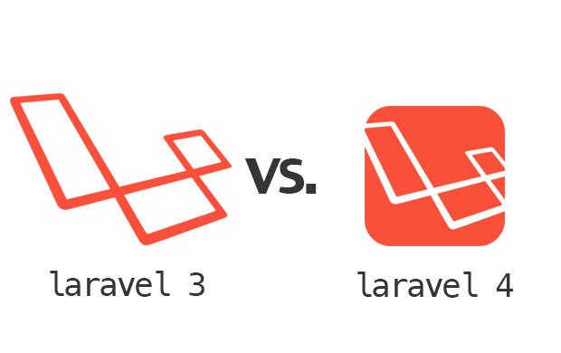 laravel3vslaravel4