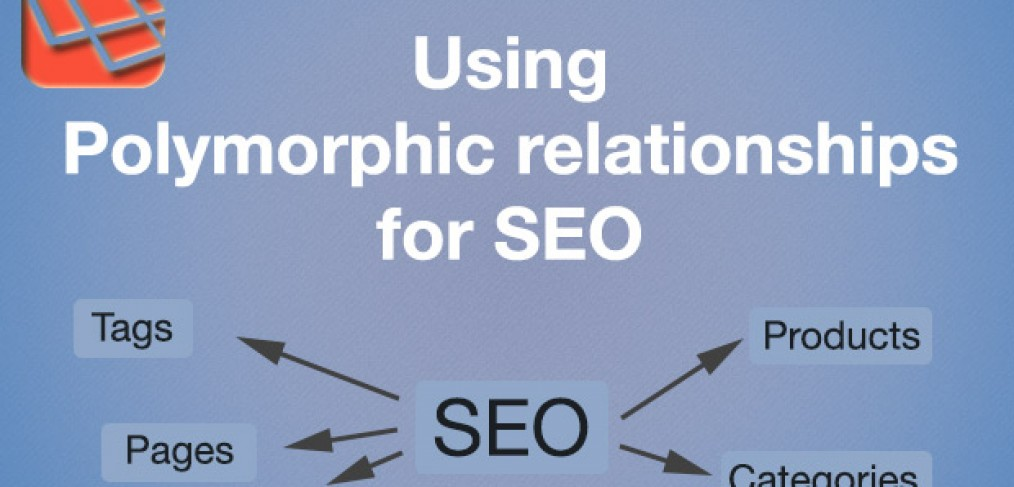 Using polymorphic relationships of Laravel for SEO content