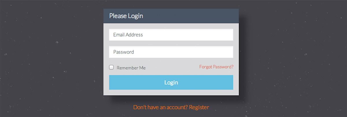 Login Forms Bootstrap Form And The Login Form