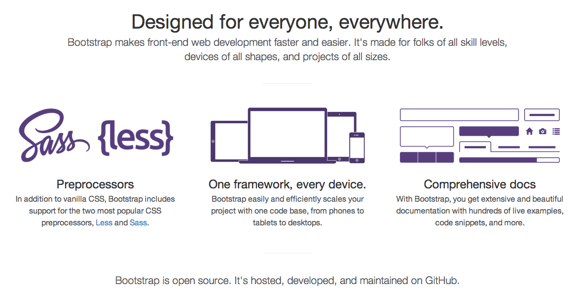 Integrating Bootstrap framework with Web Applications