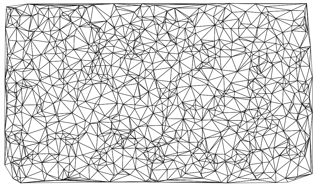 Delaunay triangulation example
