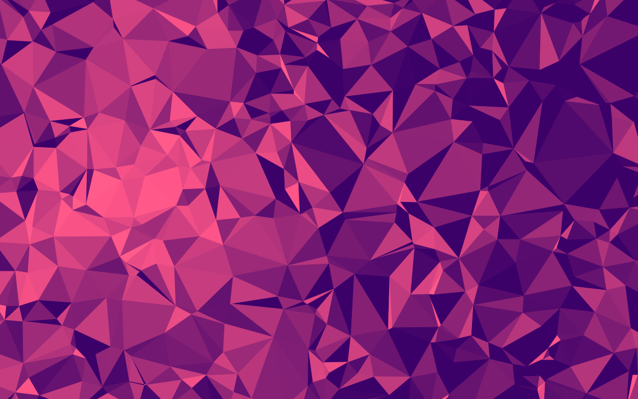 Purple Polygonal Abstract Background: Free Wallpapers And A Generator Of Delaunay Triangulation