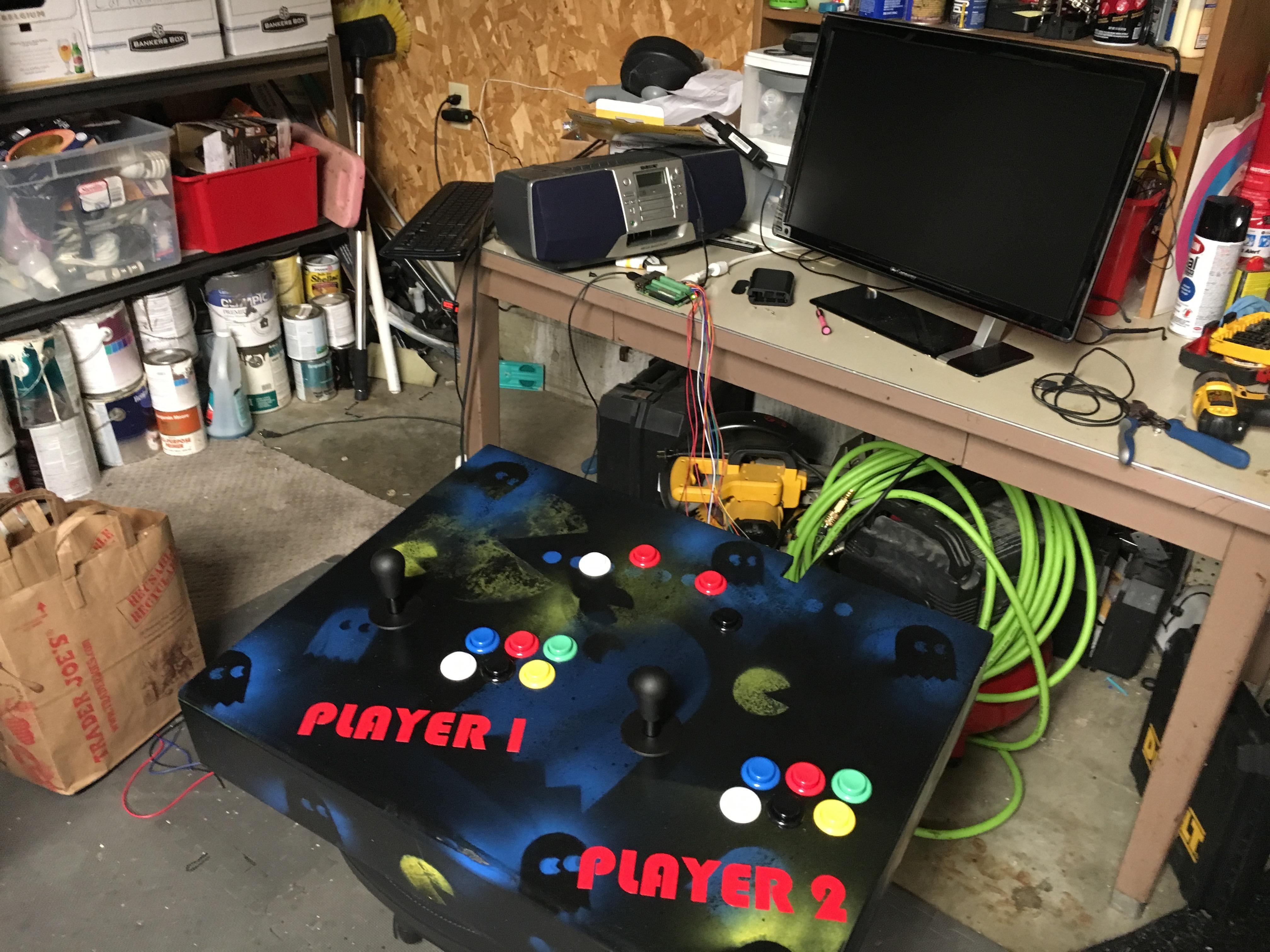Raspberry Pi Arcade Cabinet