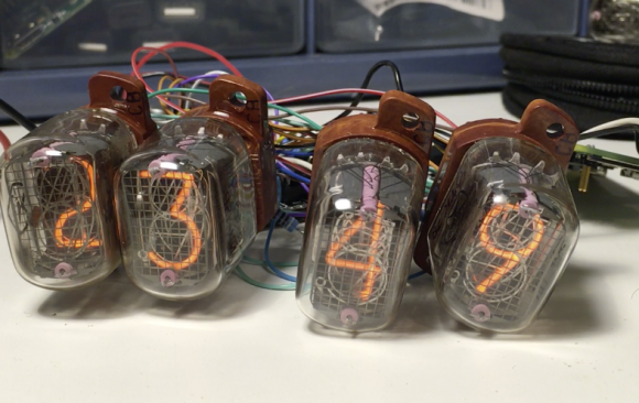 Raspberry Pi Zero Nixie Clock