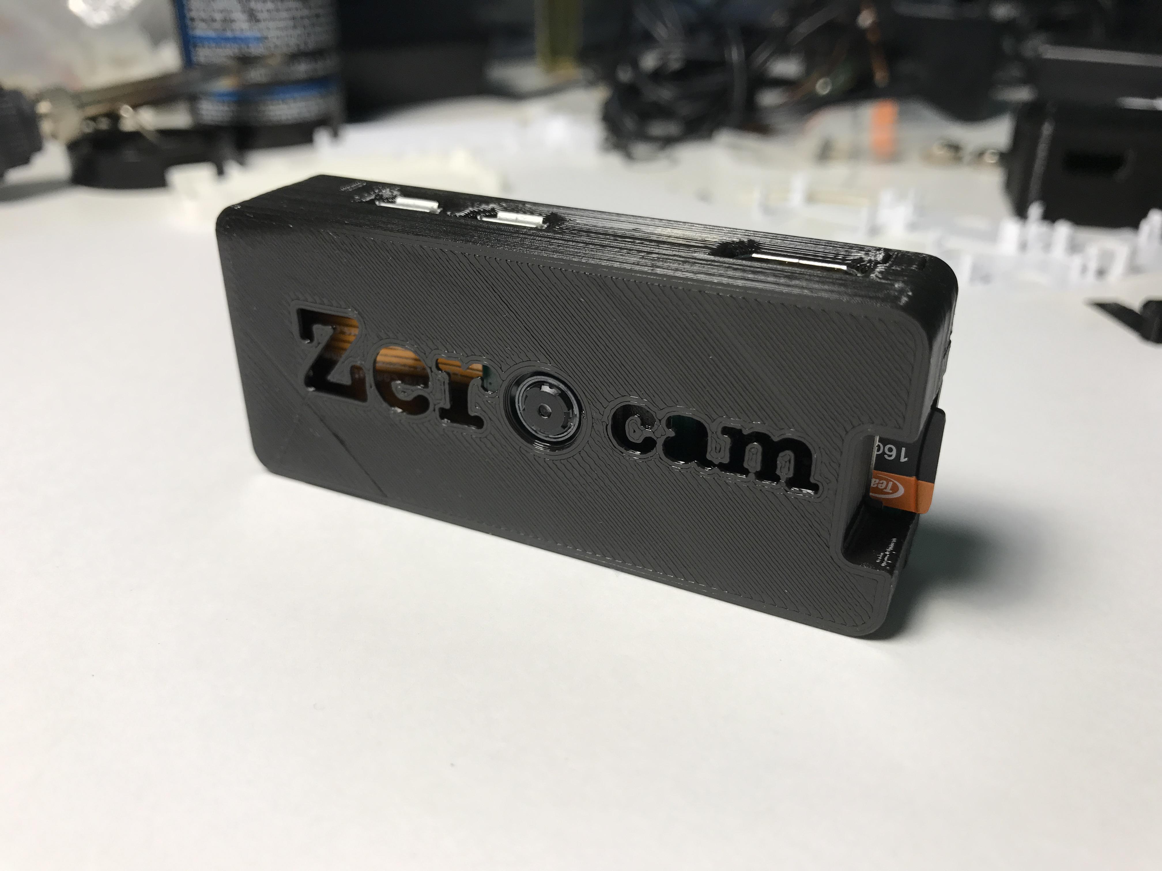 Raspberry Pi Zero camera case