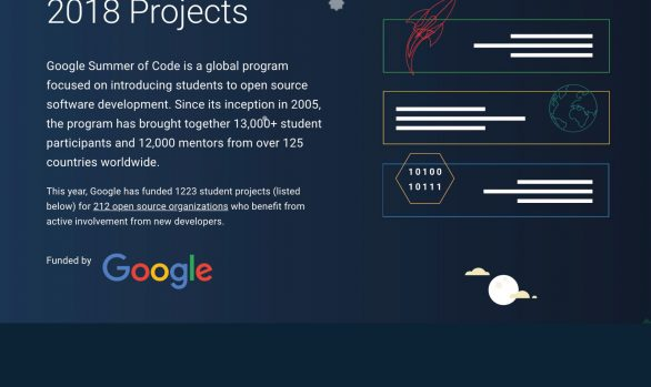 Google Summer of Code 2018
