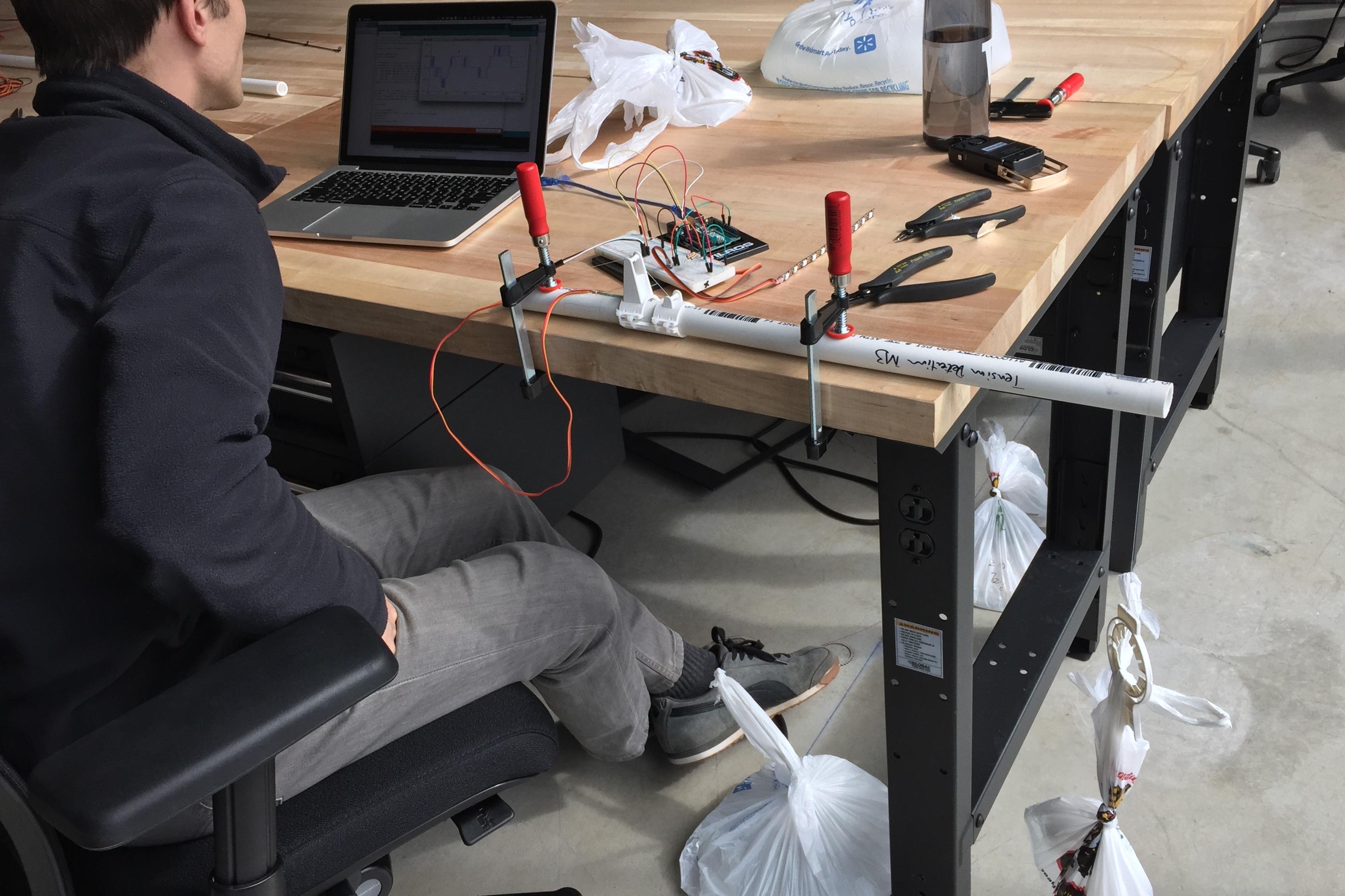Testing sensors