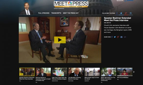 NBC News - Video Fronts