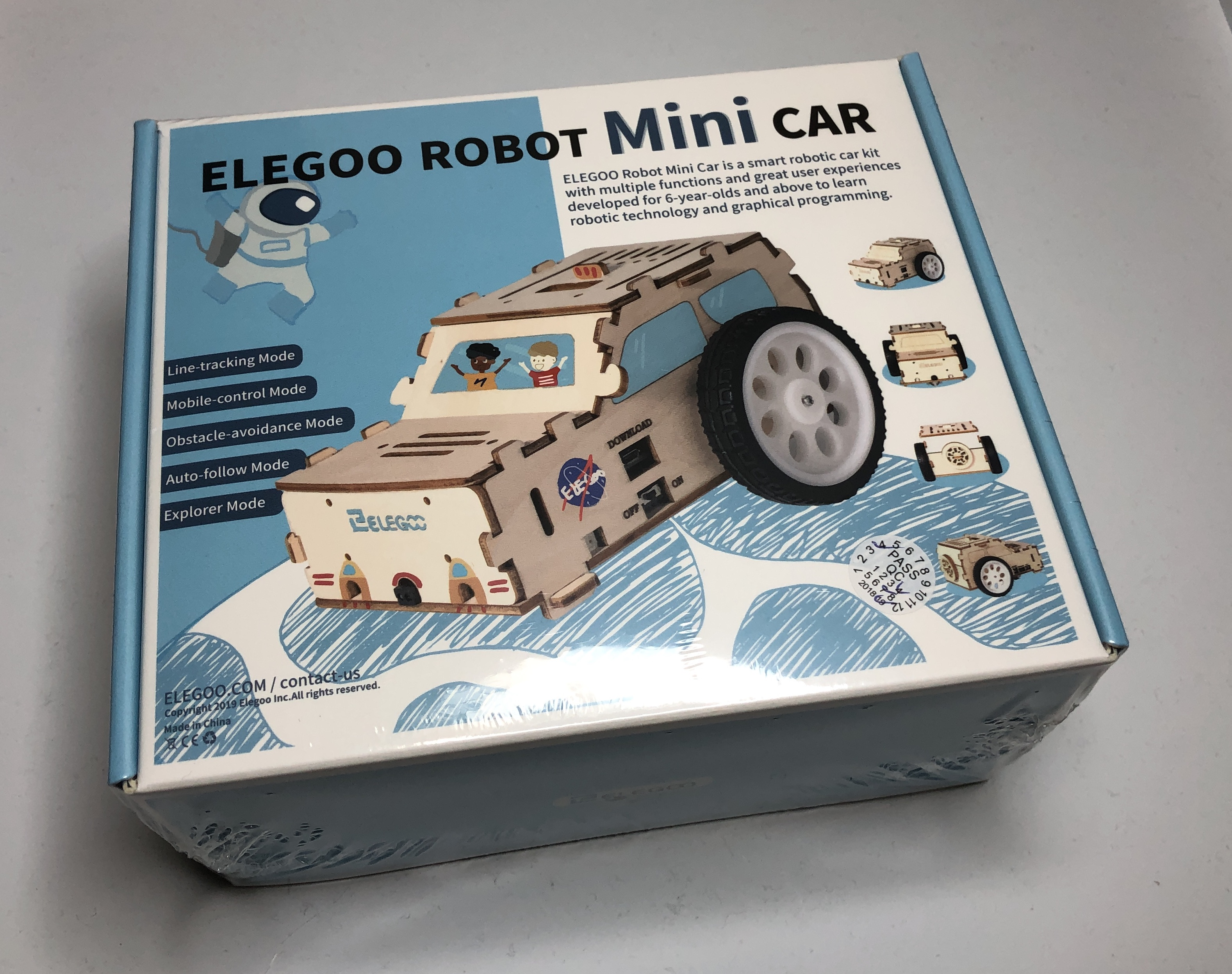 Elegoo Robot Mini Car Assembly