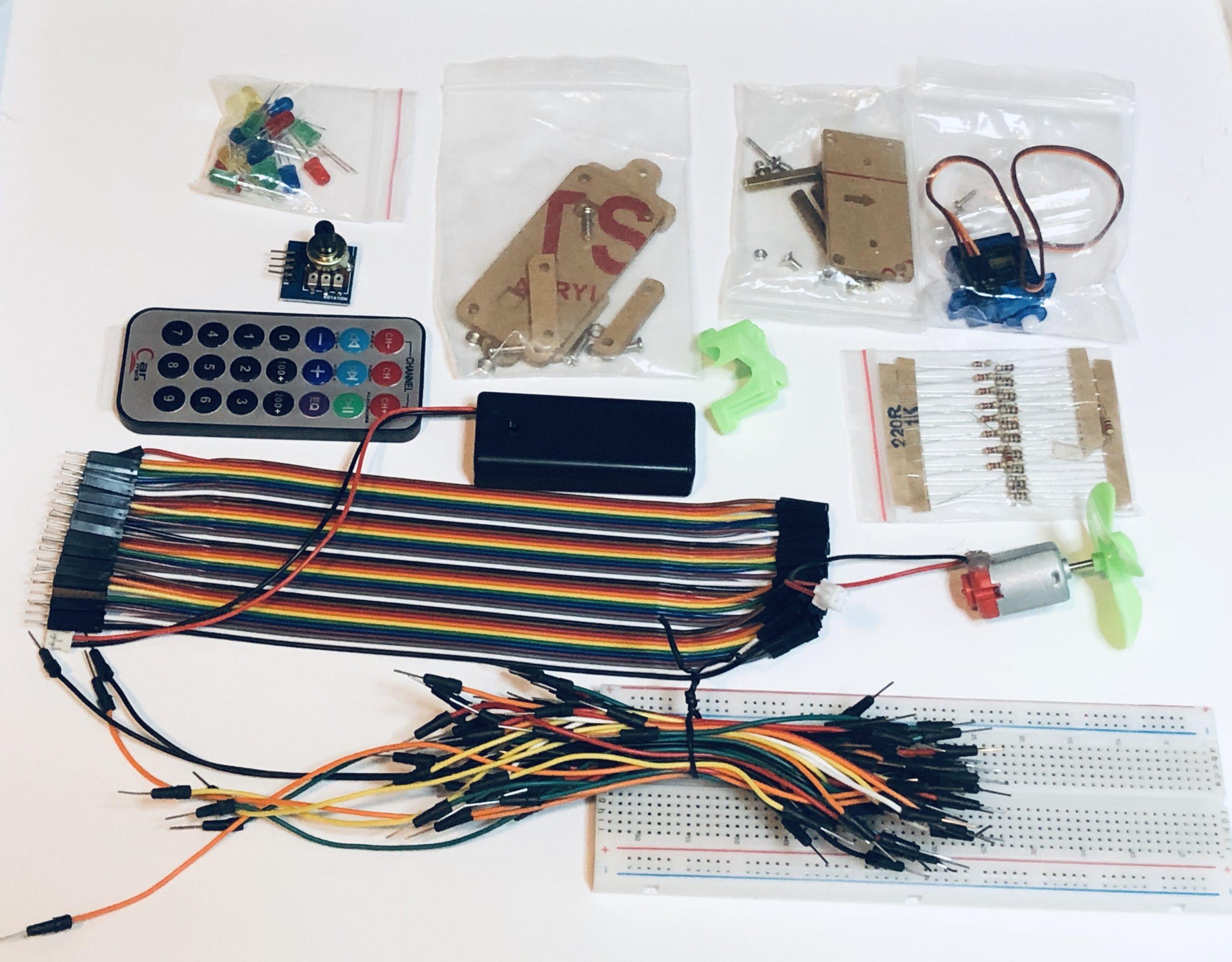 Micro:bit kit contents